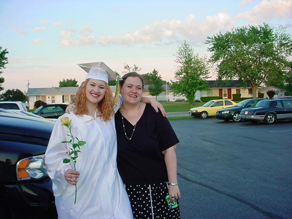 Me  and Rebekah on her graduation day :)